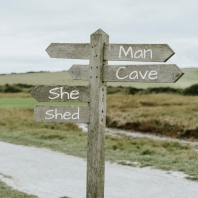 She Shed vs. Man Cave? (How about both!)