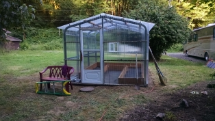 Want to offer fruit trees, veggie & herb plants, or ornamentals? Add a greenhouse!