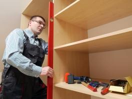 How to Hang Shelves in Your Steel Building