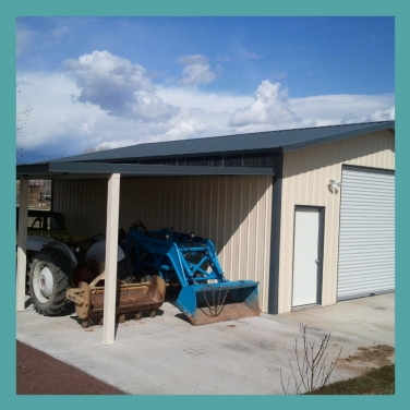 Add an awning to make your workshop even better