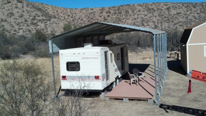 Done With Your RV Until Spring? Store it Safely in a VersaTube Cover!