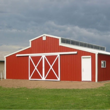 Choose the color for your VersaTube barn