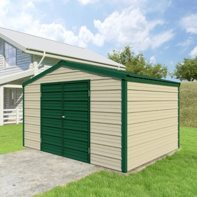 Can I have a dirt floor in my VersaTube Shed?