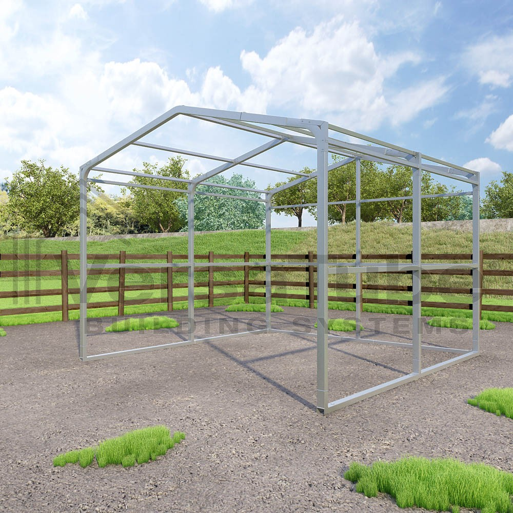 Loafing Shed - Frame Only - 12 x 12 x 8 - Barn or Loafing ...