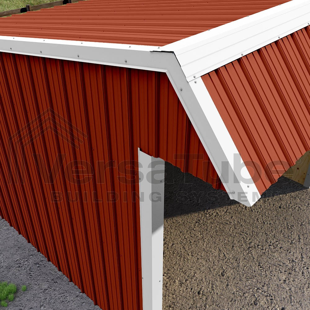 Single Slope Loafing Shed 12 X 18 X 10 8