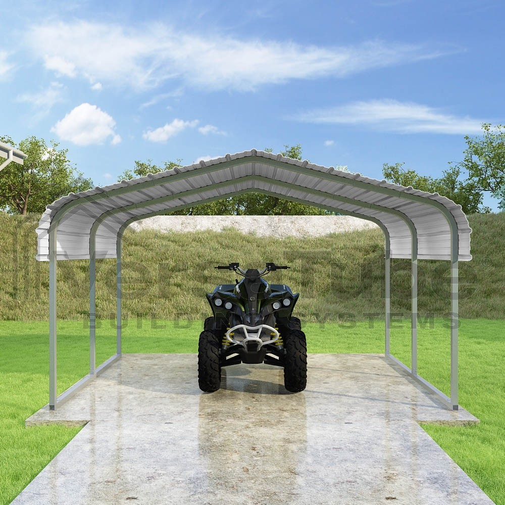 Atv Metal Carports : Atv cover roof only carport or shelter
