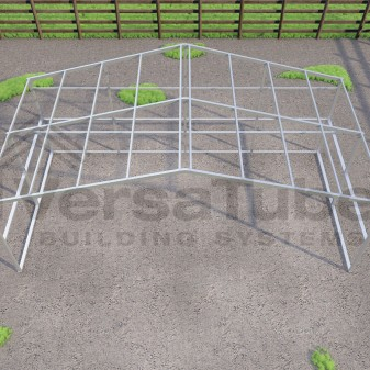Loafing Shed - Frame Only - 24 x 12 x 8