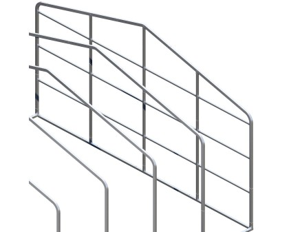Back Enclosure Frame Kit - 24'W x 10'H - With Girts