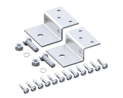 "Webbed Truss Brace Bracket Set for 1.5""SQ"