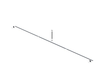 Truss Brace for 28'W Frame - Standard (Type 2)