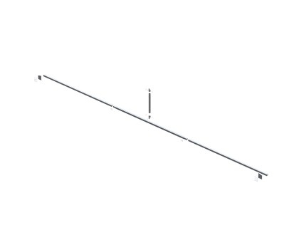 Truss Brace for 30'W Frame - Standard (Type 2)