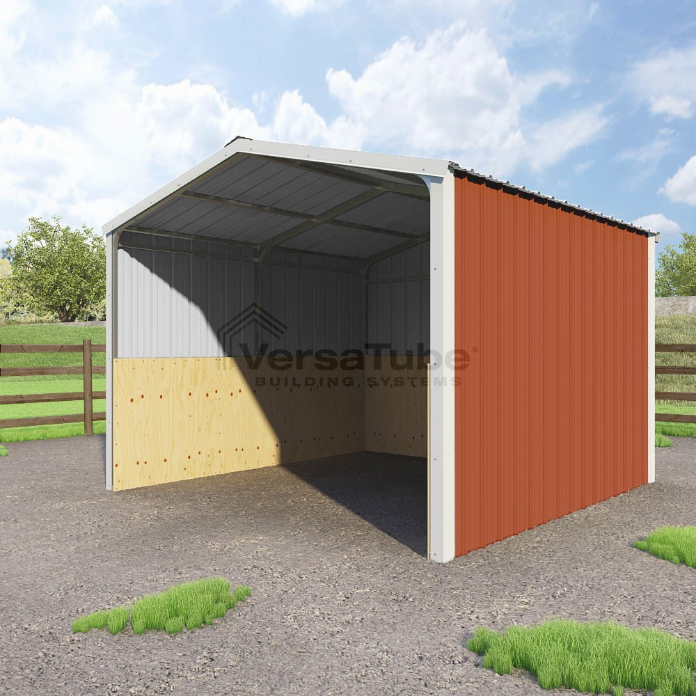 Loafing Shed - 12 x 12 x 8