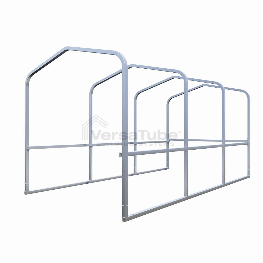 Cart Corral (2x2) - Frame Only - 8'W x 15'L  x 7'H