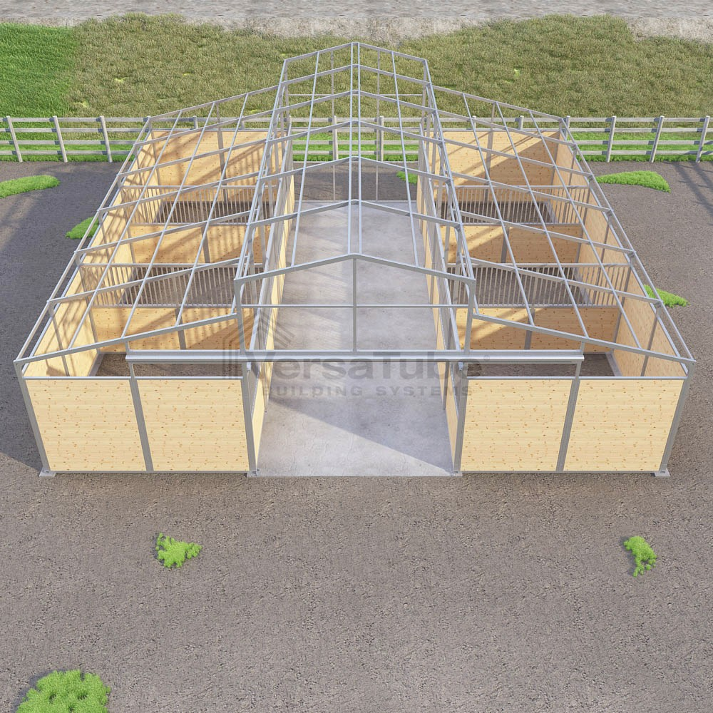 Highlander Horse Barn - Frame Only - 36 x 48 x 13/8