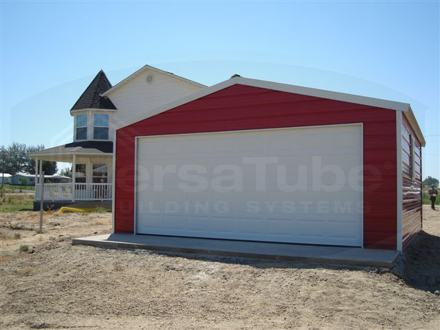 Frontier Garage With Lean To 30 X 40 X 10 Garage Or