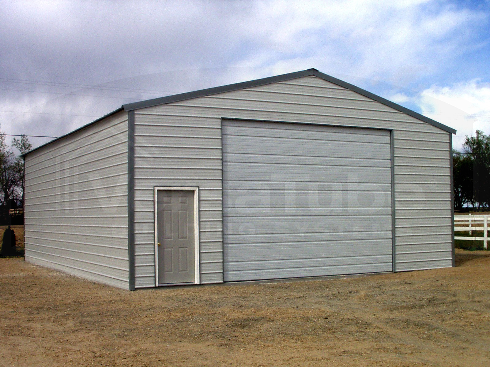 Frontier garage with lean to 30 x 40 x 10 garage or for Garage house kits