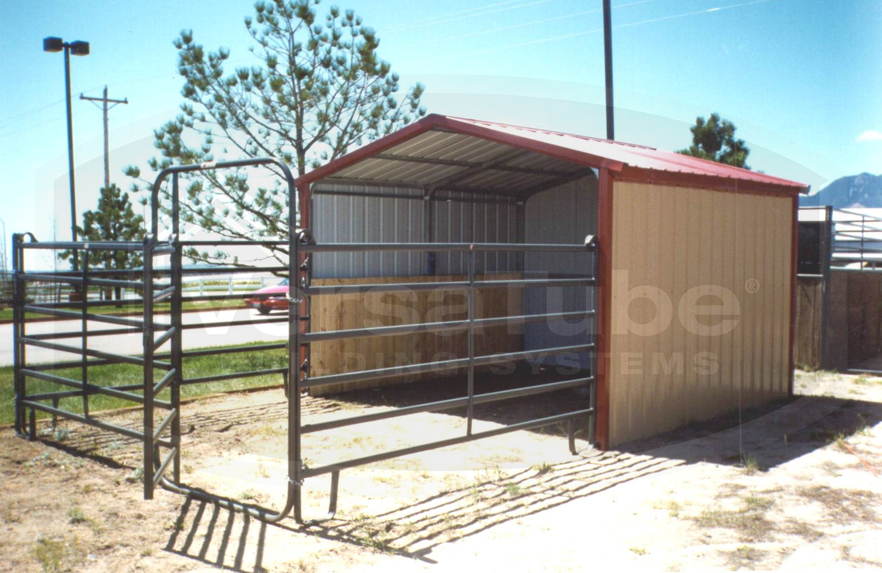 Loafing Shed Frame Only 30 X 12 X 8 Barn Or Loafing