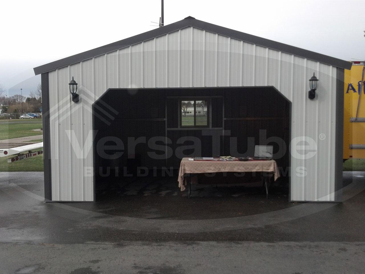 Summit garage with lean to 30 x 40 x 10 garage or for 20 x 25 garage kits