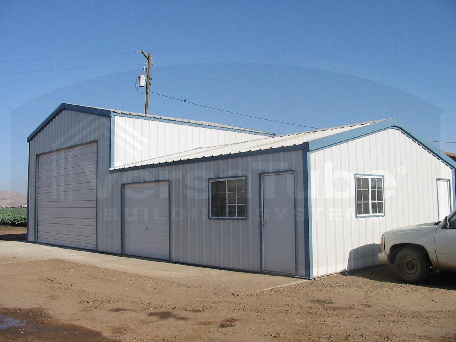 Summit garage with lean to 30 x 40 x 10 garage or for 25 x 40 garage kit