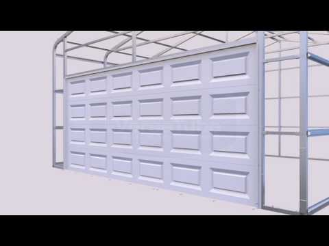 Summit Garage Door Trim Application