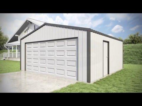 20 x 20 x 8 - Summit Garage