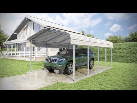 12 x 20 x 7 - Classic Carport - Roof Only