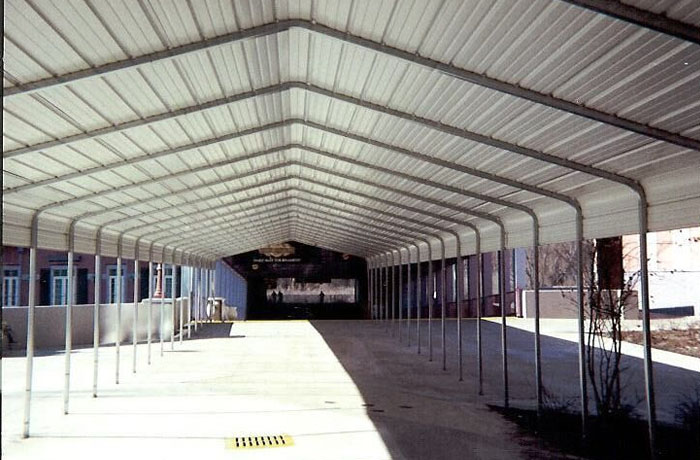 VersaTube Covered Walkways