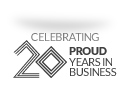 Celebrating Proud 20 Years in Business